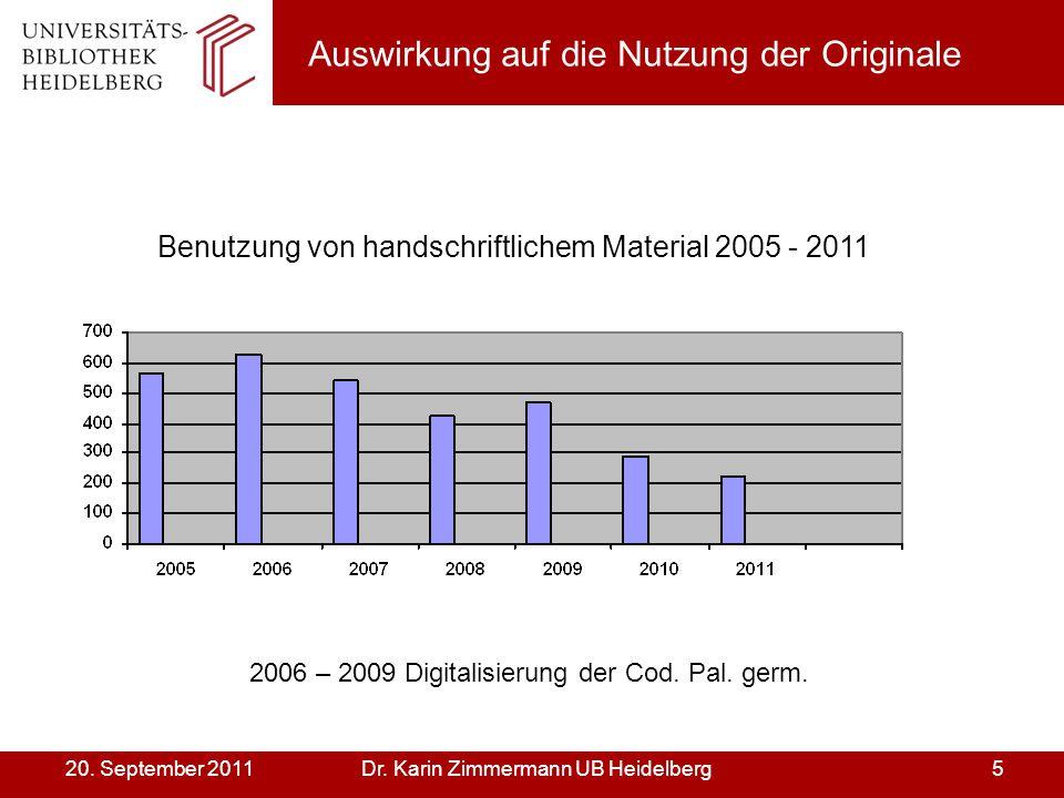 Dr. Karin Zimmermann UB Heidelberg520.