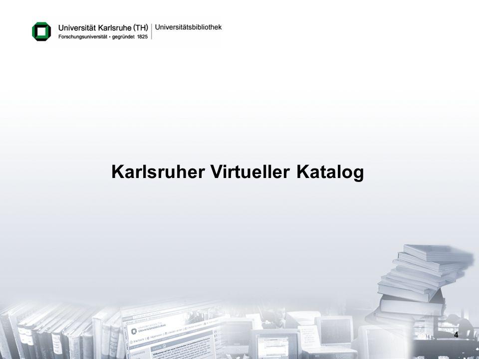 4 Karlsruher Virtueller Katalog