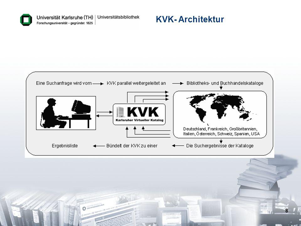 8 KVK- Architektur