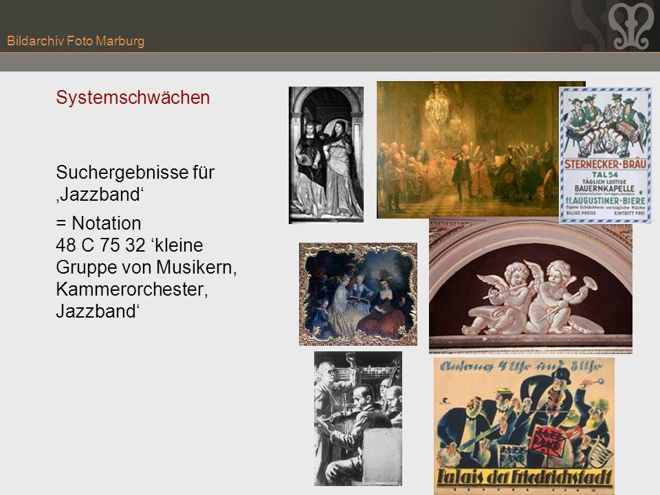 Bildarchiv Foto Marburg Systemschwächen Suchergebnisse für Jazzband = Notation 48 C 75 32 kleine Gruppe von Musikern, Kammerorchester, Jazzband