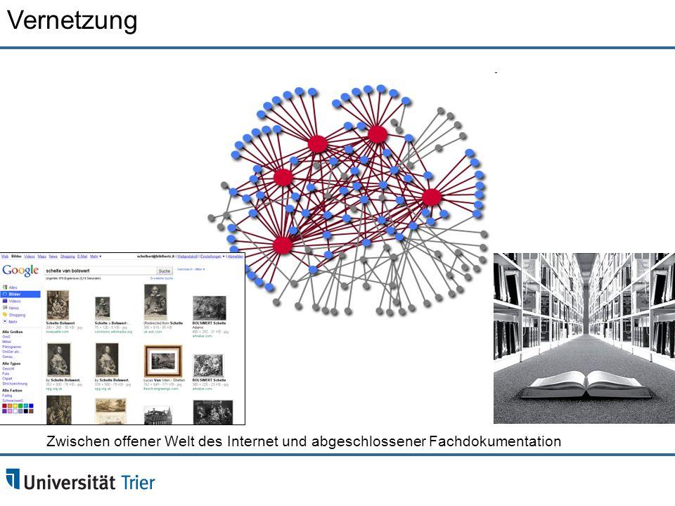 Vernetzung Zwischen offener Welt des Internet und abgeschlossener Fachdokumentation