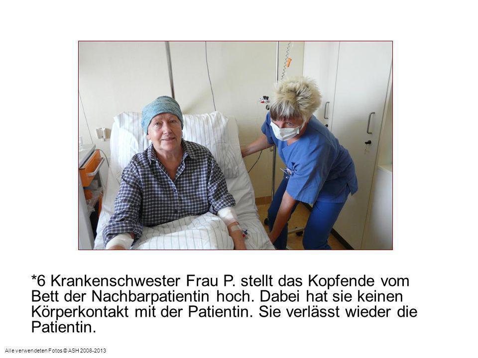 *7 Anschließend wendet sie sich wieder Patientin Frau S.