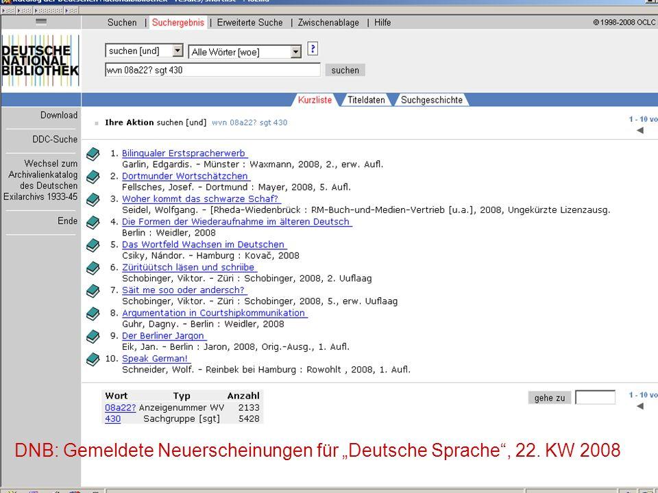 12.06.2008VDB-Fortbildung Rostock18 1 2 3