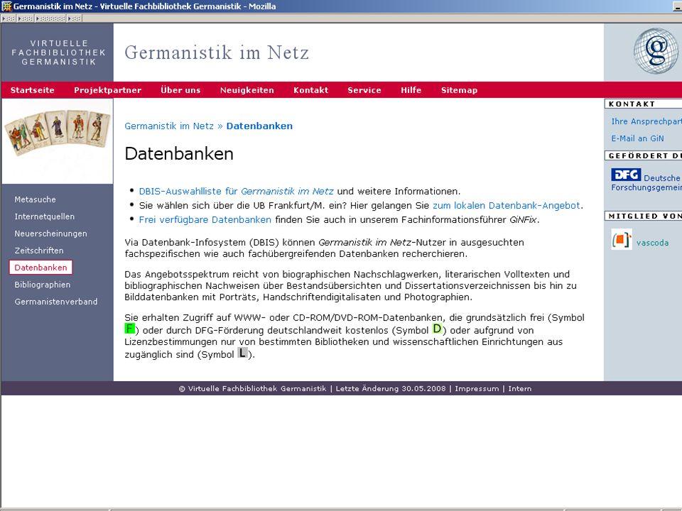 12.06.2008VDB-Fortbildung Rostock25 Lizenzinformation