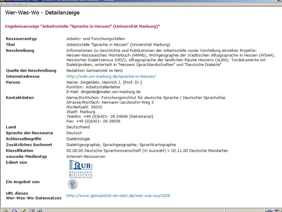 12.06.2008VDB-Fortbildung Rostock36 …Von der BDSL in GiNFix springen…