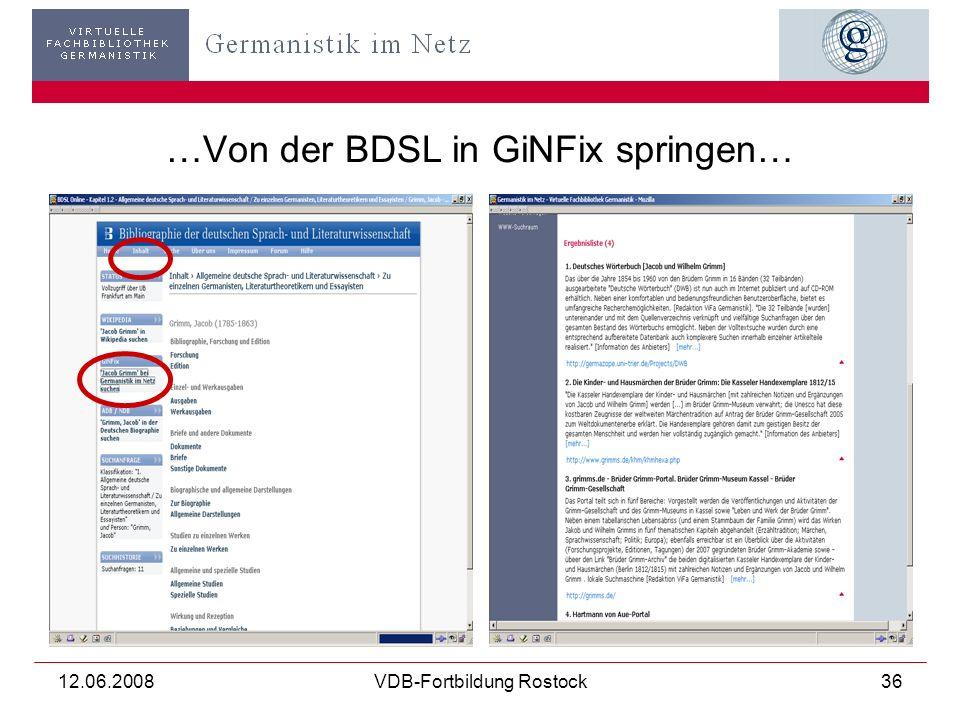 12.06.2008VDB-Fortbildung Rostock37