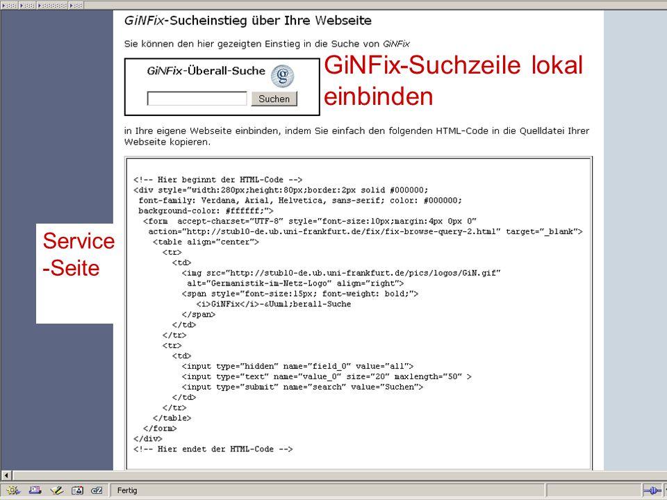 12.06.2008VDB-Fortbildung Rostock48 Website erfassen in 3 Klicks mit GiNDirekt + 1 2 3