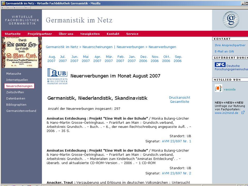 24.9.2007 Deutscher Germanistentag Marburg 19