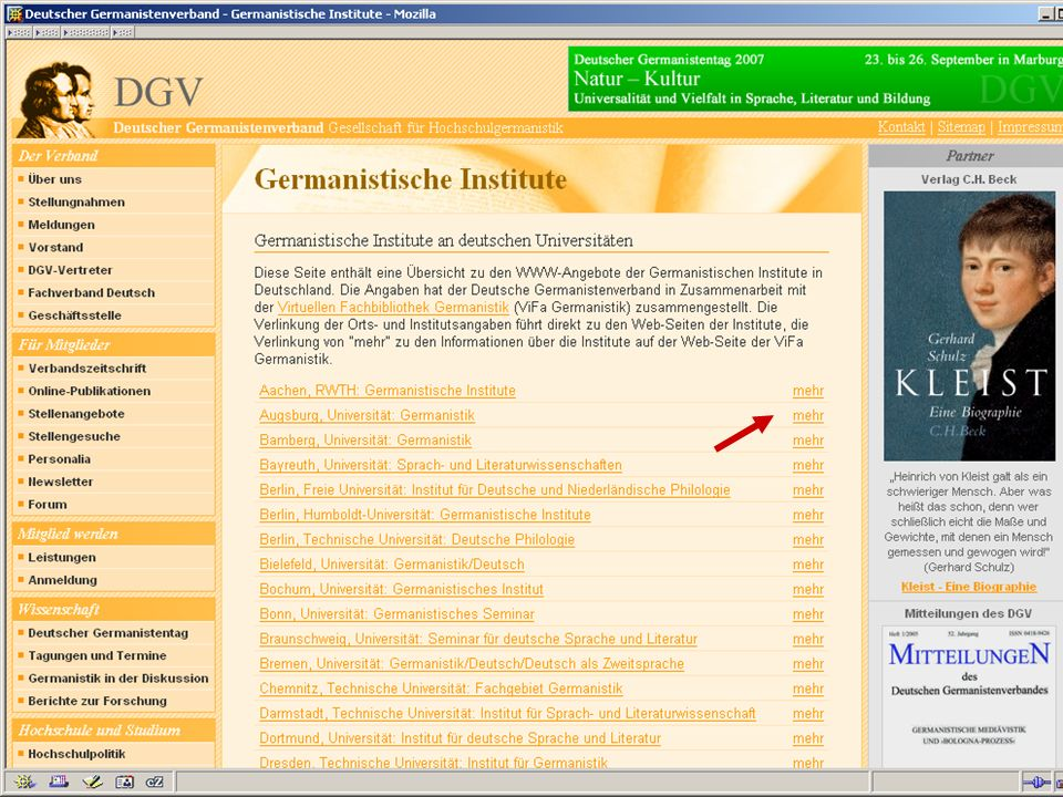04.09.2007GSLG - German Studies Day43