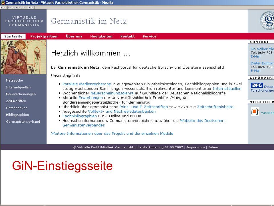 04.09.2007GSLG - German Studies Day36 Ausschnitt aus Wer-Was-Wo-Trefferliste