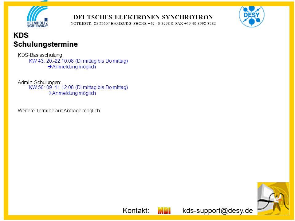 9 9 DEUTSCHES ELEKTRONEN-SYNCHROTRON NOTKESTR. 85 22607 HAMBURG PHONE +49-40-8998-0.