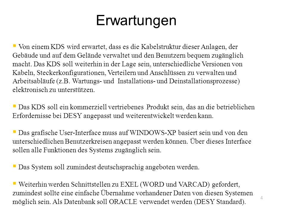 Schulungen DESY-Gruppen im KDS und Anwender (Dez.