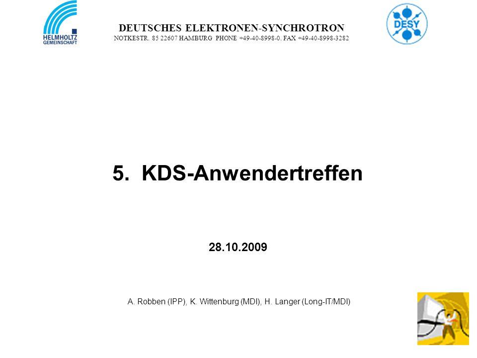 1 DEUTSCHES ELEKTRONEN-SYNCHROTRON NOTKESTR. 85 22607 HAMBURG PHONE +49-40-8998-0.