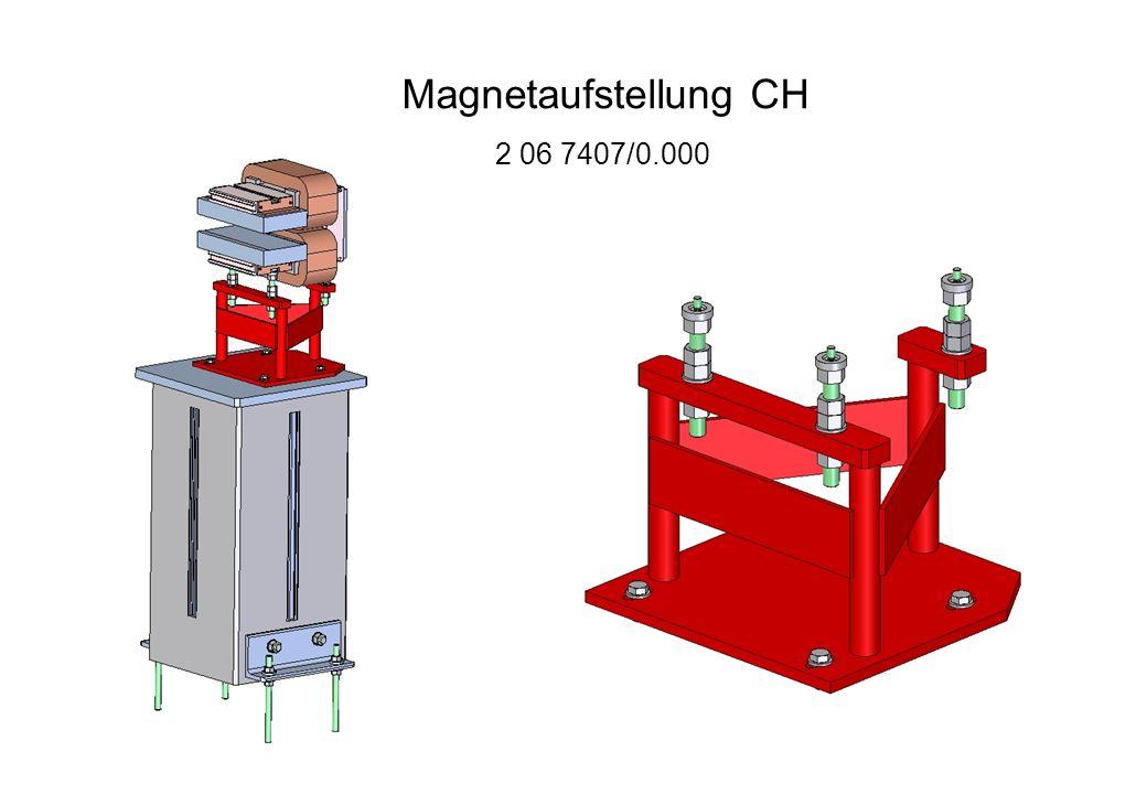 Magnetaufstellung CH 2 06 7407/0.000