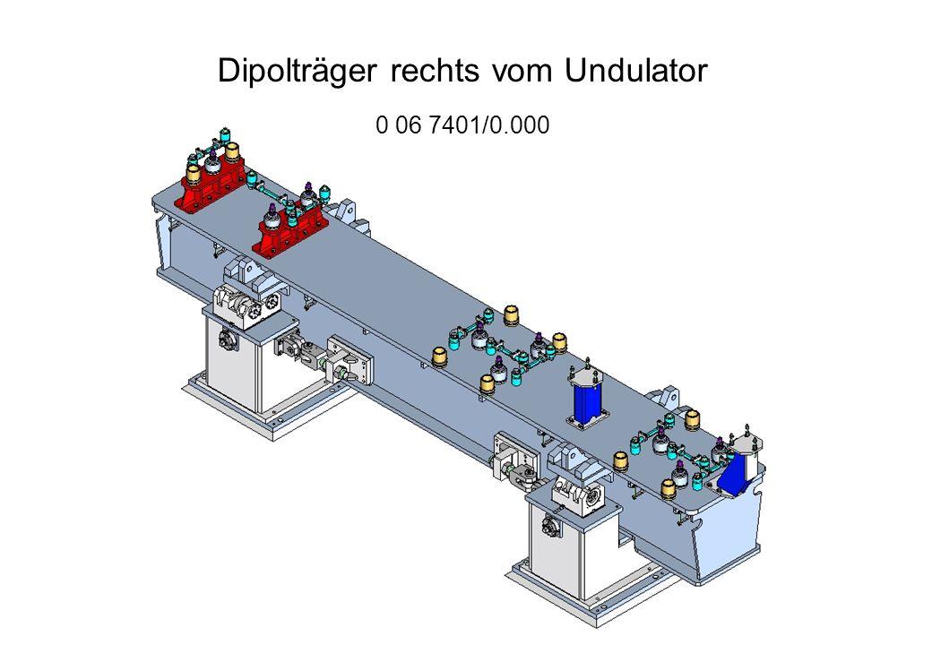 Dipolträger links vom Undulator 0 06 7400/0.000