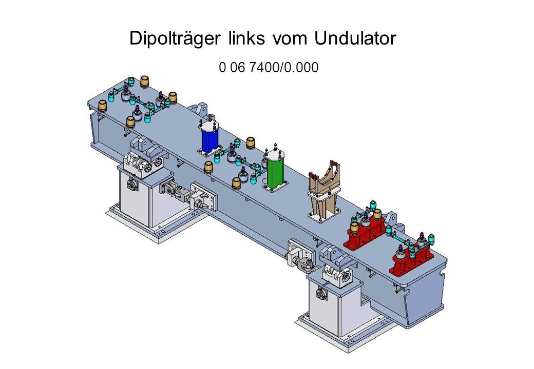 Quadrupolträger links vom Undulator 0 06 7402/0.000