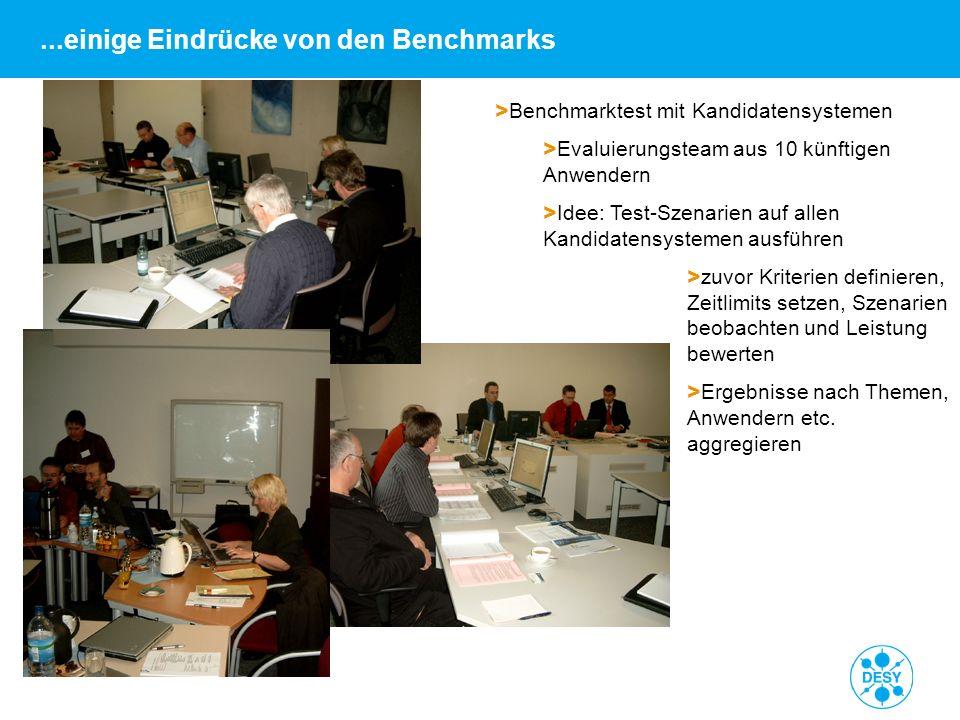 Andrea Robben   FNT-Referenzkundenveranstaltung am DESY   18.06.09   Seite 16 > Benchmarktest mit Kandidatensystemen > Evaluierungsteam aus 10 künftig