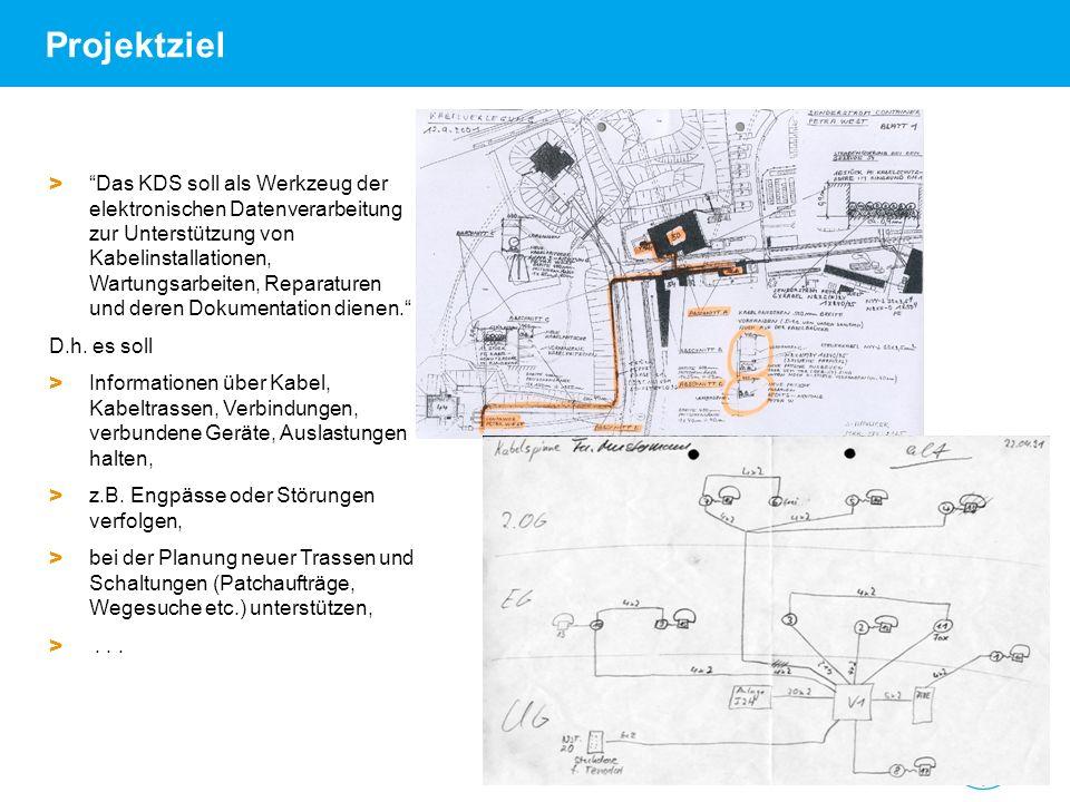 Andrea Robben   FNT-Referenzkundenveranstaltung am DESY   18.06.09   Seite 3 Projektziel > Das KDS soll als Werkzeug der elektronischen Datenverarbeit