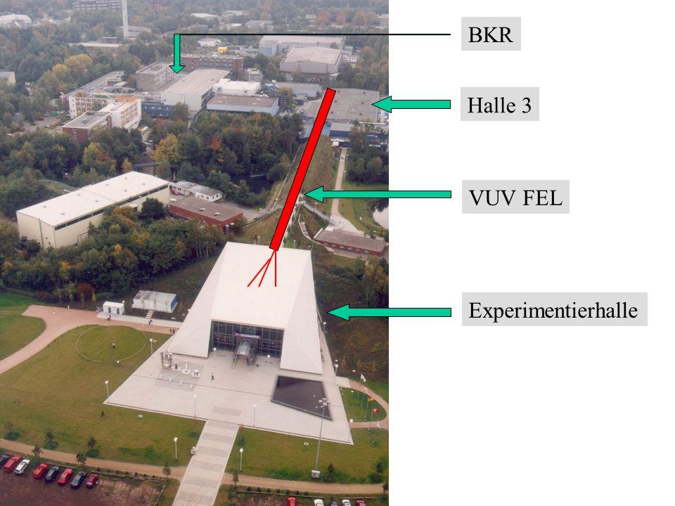 Halle 3 VUV FEL Experimentierhalle BKR