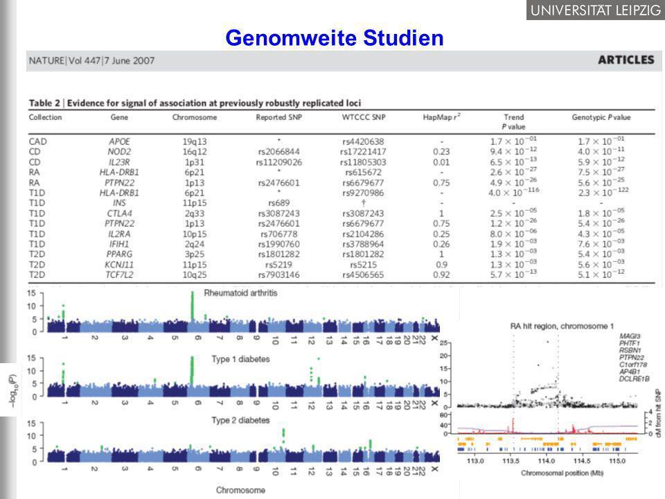 31/37 Genomweite Studien