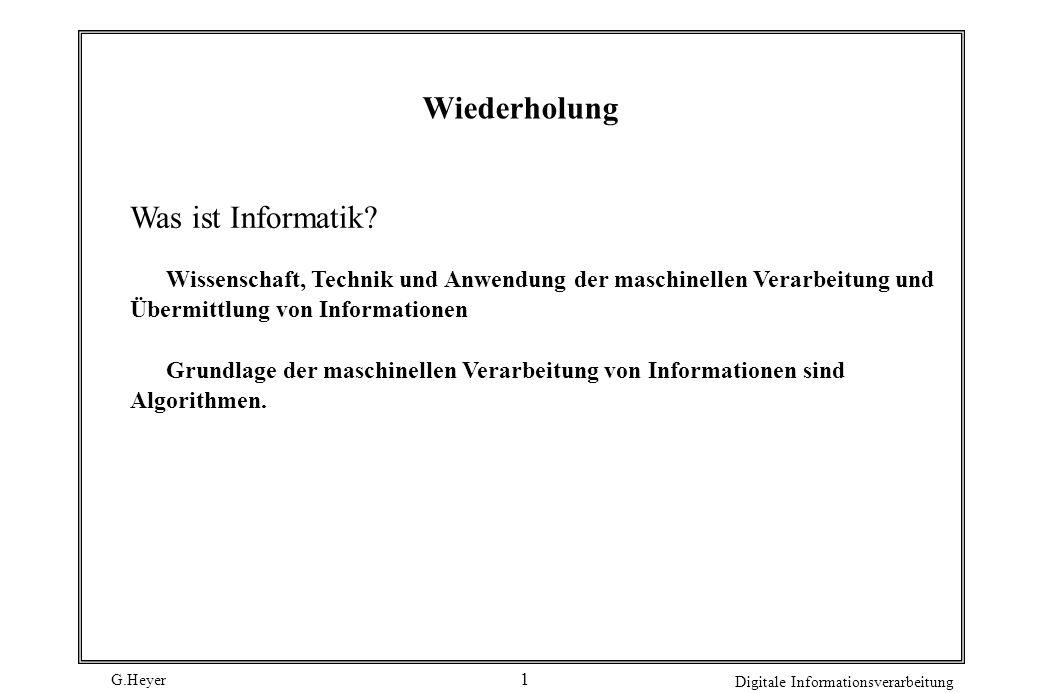 G.Heyer Digitale Informationsverarbeitung 2 2.