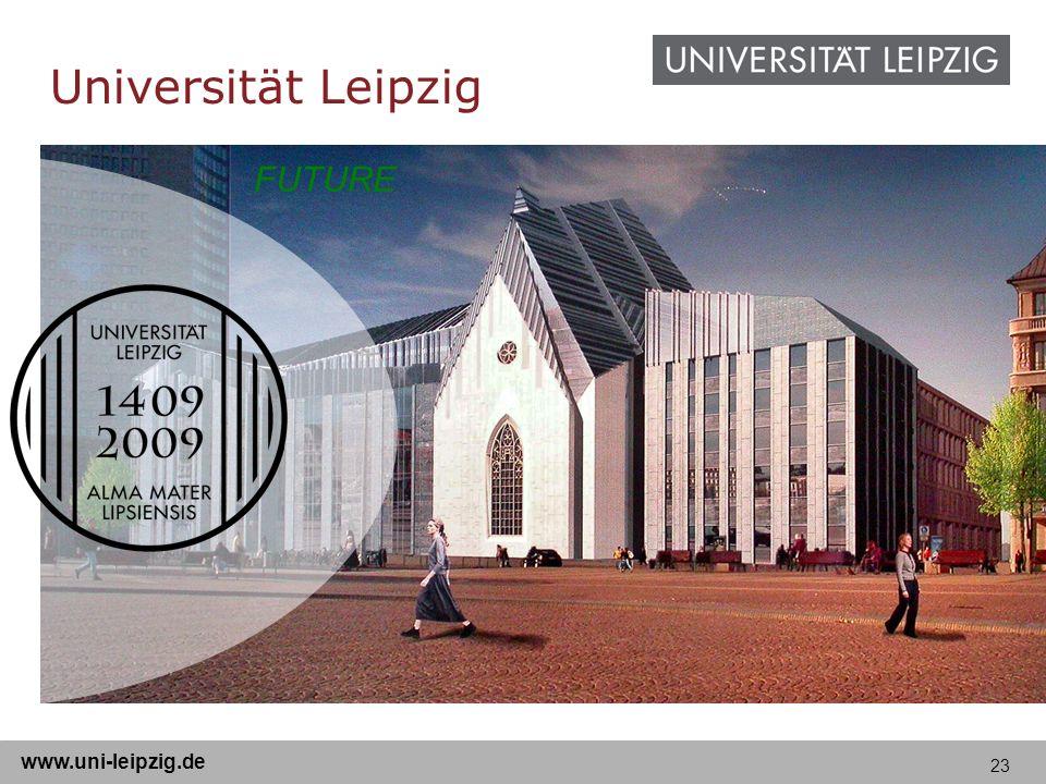 23 www.uni-leipzig.de FUTURE Universität Leipzig
