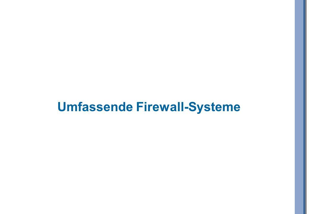 Umfassende Firewall-Systeme