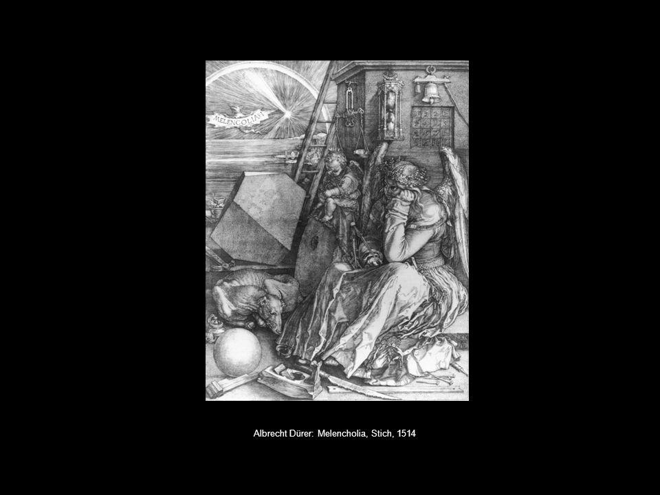 Albrecht Dürer: Melencholia, Stich, 1514