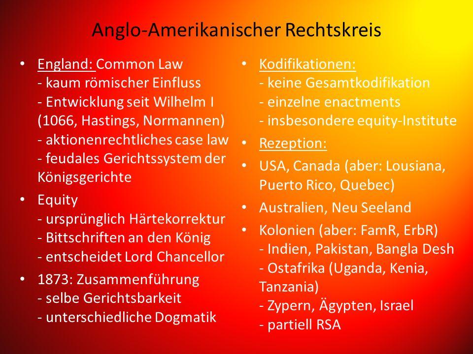 Skandinavischer (nordischer) Rechtskreis Historische Grundlage - Altgermanisches Recht - eigenständige Entwicklung./.