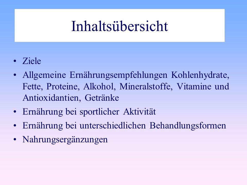 Alkohol Alkohol1g7.0kcal Kohlenhydrate1g4,1kcal Fett1g9,3kcal Protein1g4,2kcal appetitanregend