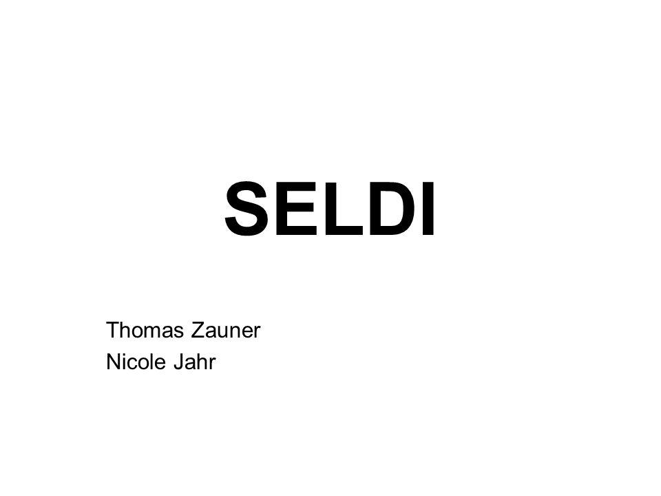 SELDI Thomas Zauner Nicole Jahr