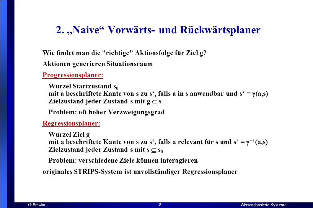 G.BrewkaWissensbasierte Systeme 29 Local Search (nachfolgende englische Folien von J.