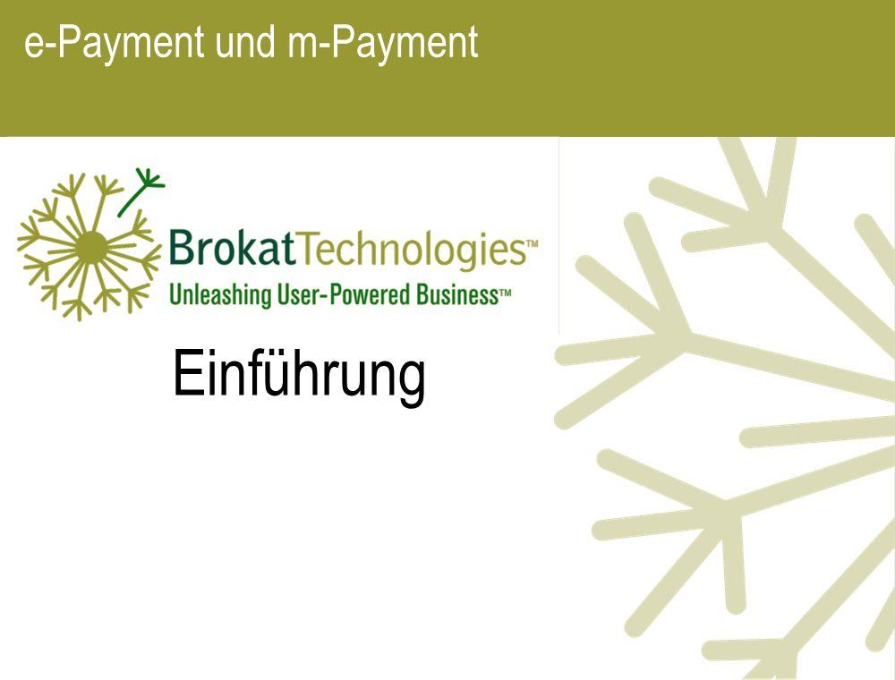 e-Payment und m-Payment Einführung