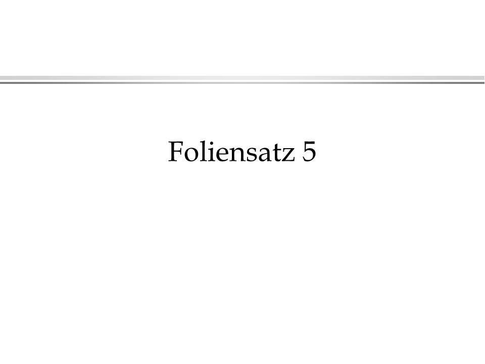 Foliensatz 5