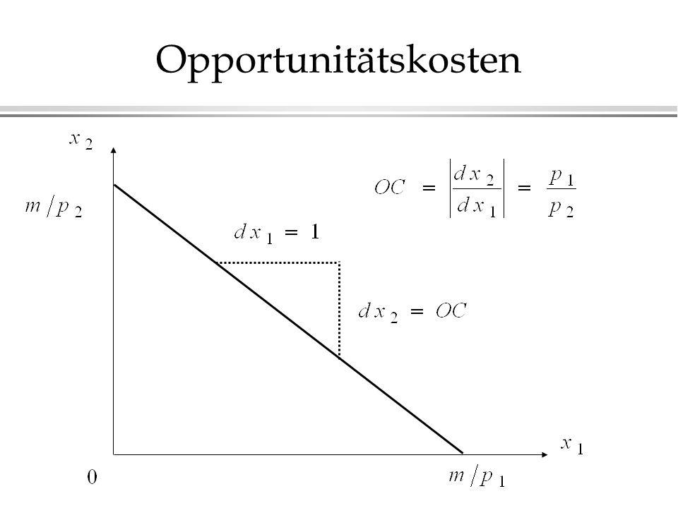 Opportunitätskosten
