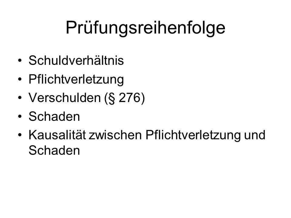 Voraussetzungen: Vertragsverhandlungen, Nr.