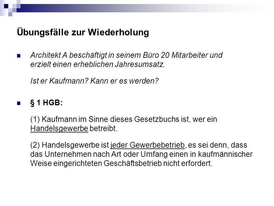 Wiederholung Stellvertretung im allgemeinen Zivilrecht § 164 Abs.