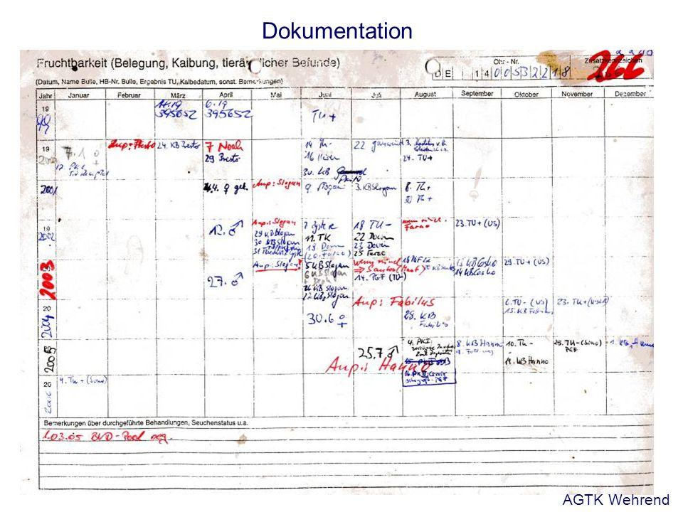 Dokumentation AGTK Wehrend