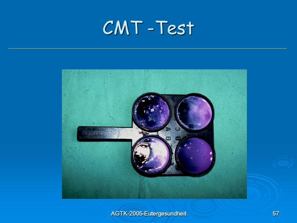 AGTK-2005-Eutergesundheit57 CMT -Test