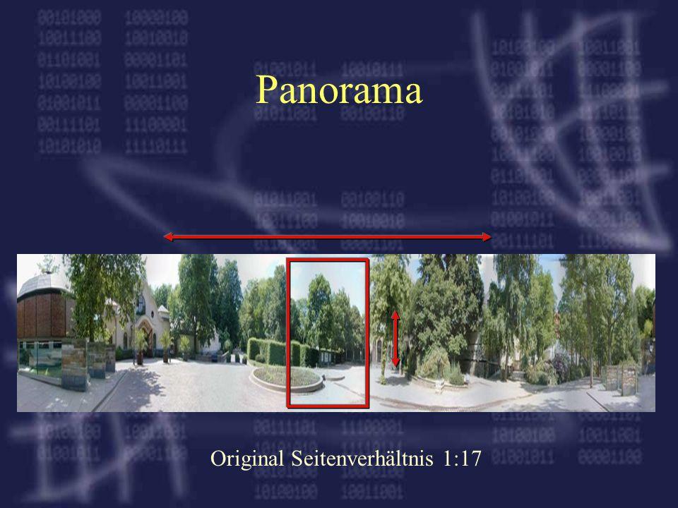 Panorama Original Seitenverhältnis 1:17