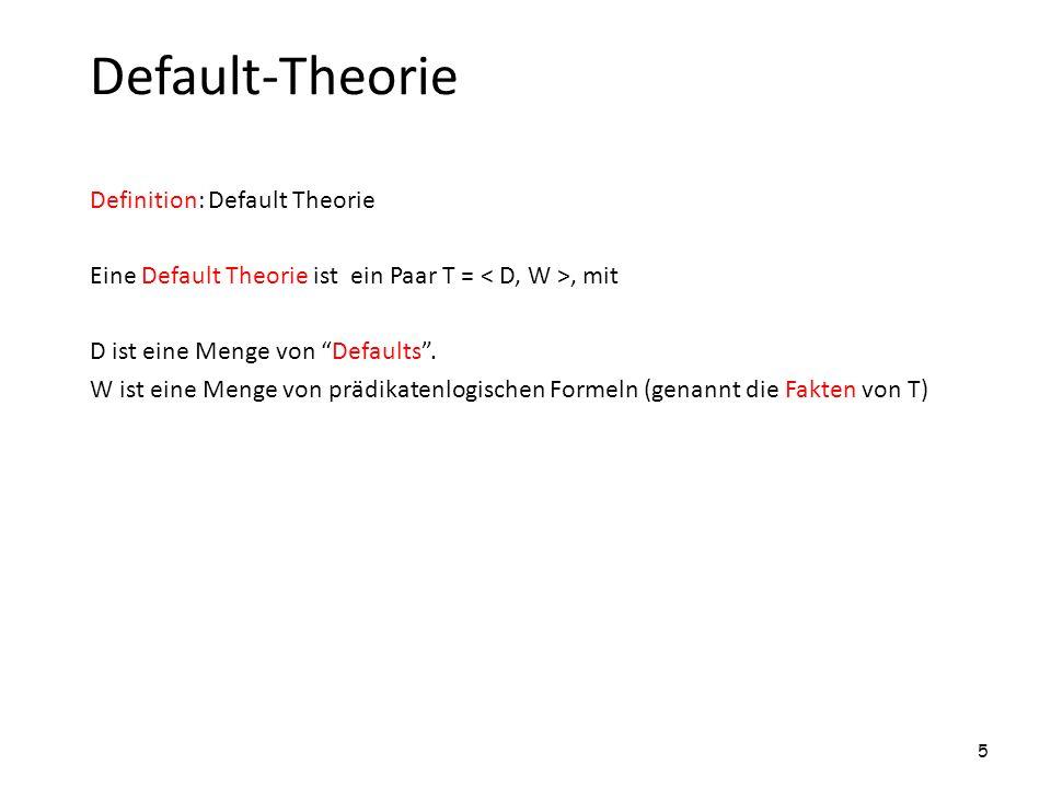 Prozessbäumen Prozessbaum zu T = Kanten haben Defaults als Markierung.