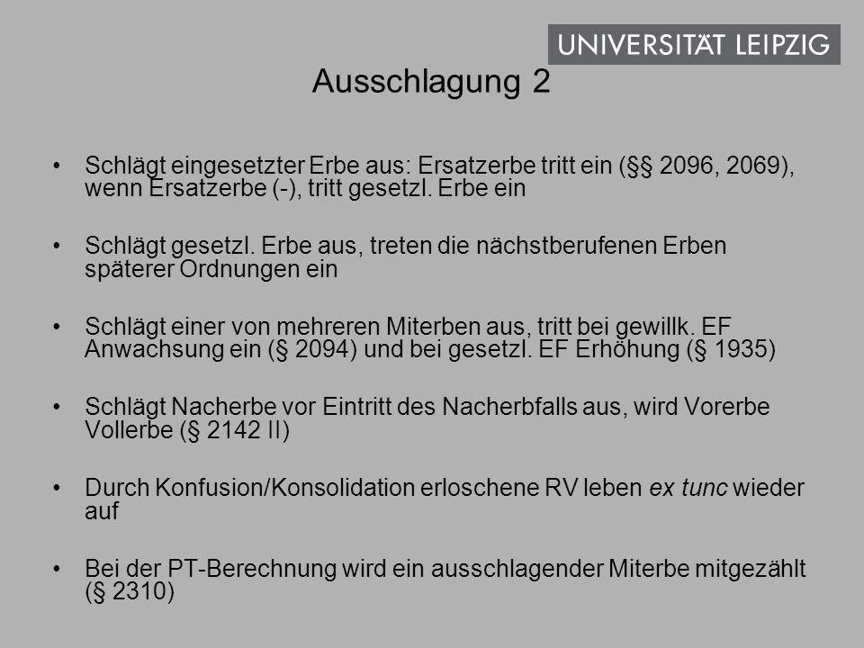 Erbschaftsanspruch 1.§ 2018: einheitlicher erbrechtlicher Gesamtanspruch auf Herausgabe der Erbschaft im Ganzen gg.