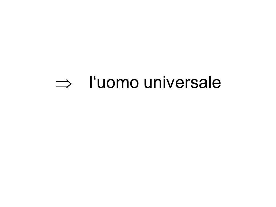 luomo universale