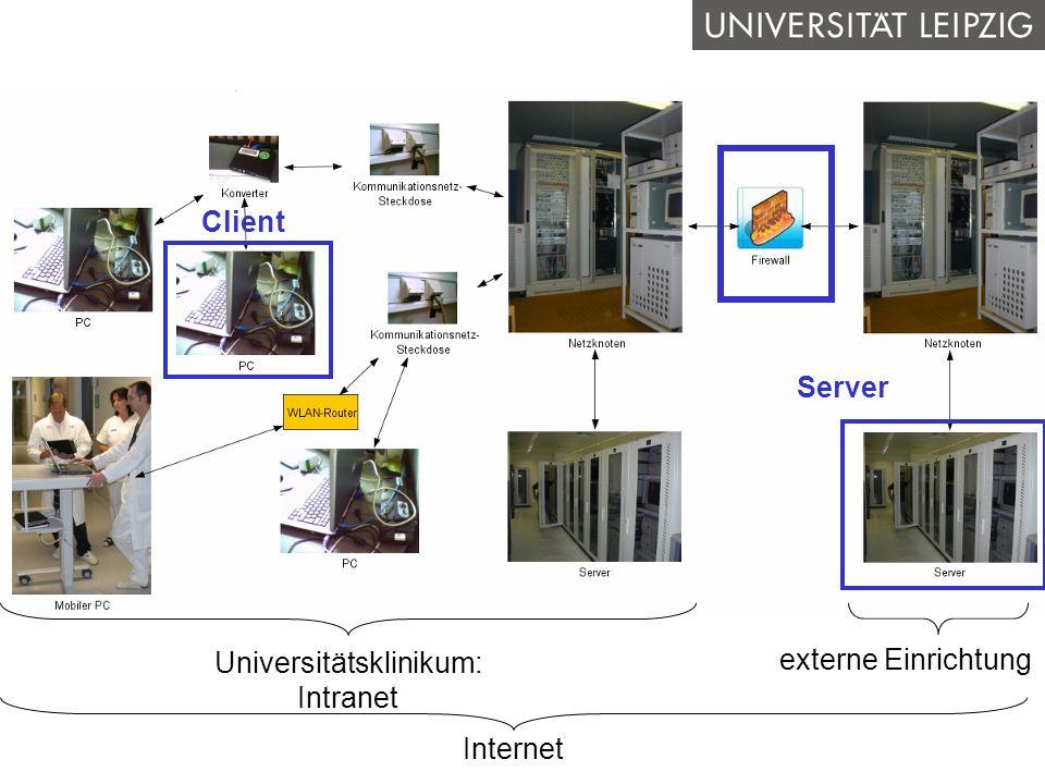 Bedeutung I&K-Technik Das KIS Nutzung des KIS Datenschutz & Datensicher- heit QB1 WS 2006/2007 Alfred Winter: Krankenhausinformationssysteme 12/61 Inf