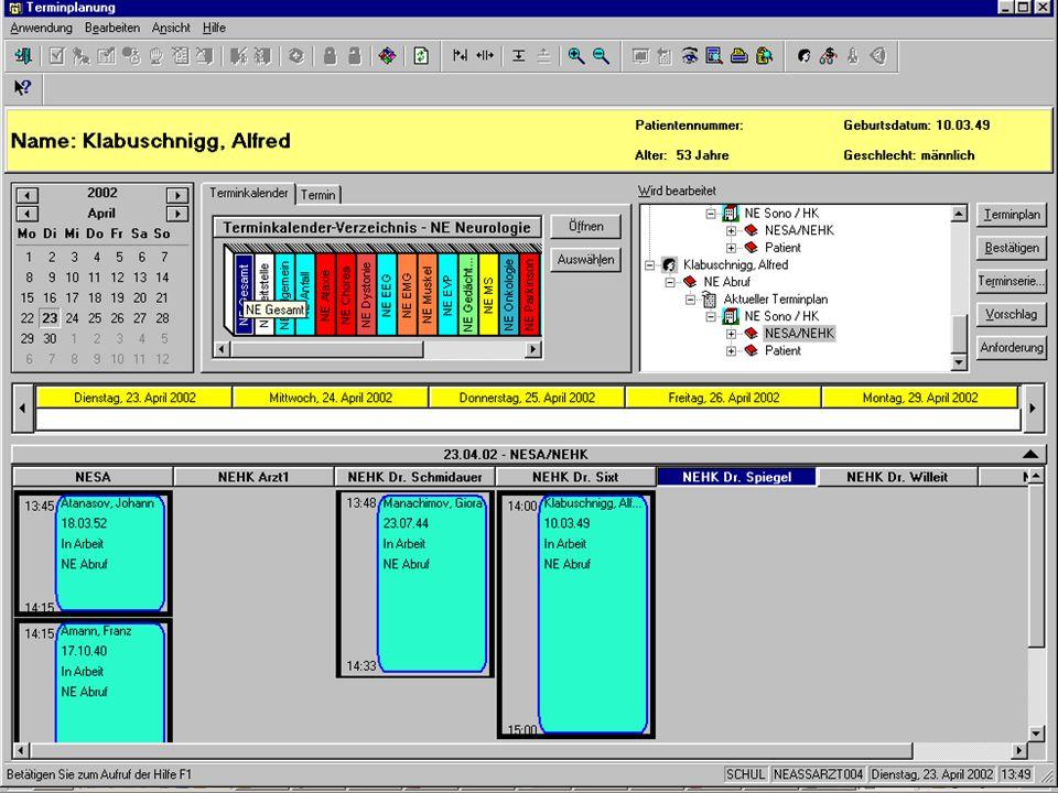Bedeutung I&K-Technik Das KIS Nutzung des KIS Datenschutz & Datensicher- heit QB1 WS 2006/2007 Alfred Winter: Krankenhausinformationssysteme 45/61