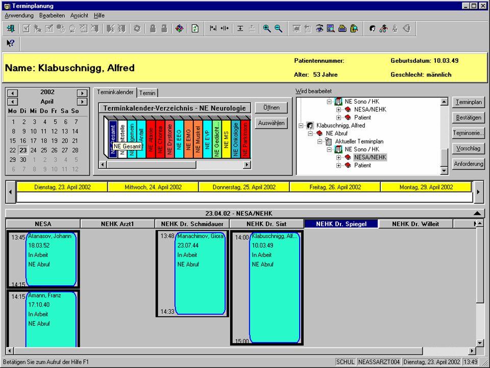 Bedeutung I&K-Technik Das KIS Nutzung des KIS Datenschutz & Datensicher- heit QB1 WS 2006/2007 Alfred Winter: Krankenhausinformationssysteme 9/61 Info