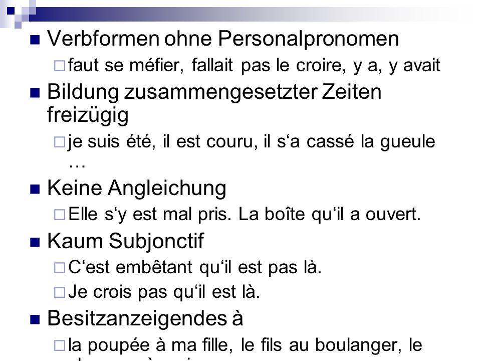 « Louchébem » - Argot oder Jargon.