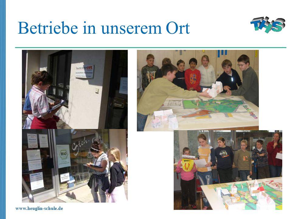 www.heuglin-schule.de Betriebe in unserem Ort