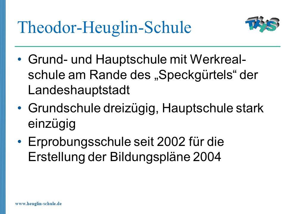 www.heuglin-schule.de Theodor-Heuglin-Schule Grund- und Hauptschule mit Werkreal- schule am Rande des Speckgürtels der Landeshauptstadt Grundschule dr