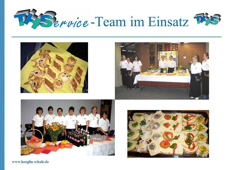 www.heuglin-schule.de -Team im Einsatz
